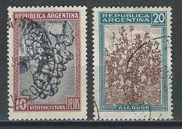 Argentina Mi 430, 431, Sc 449, 450  O Used - Argentina