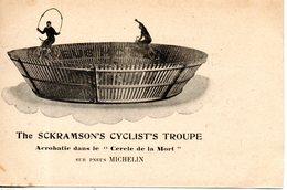 The Sckramson's Cyclist's Troupe; Acrobatie Dans Le Cercle De La Mort - Künstler