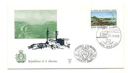1980 - San Marino 1053 Esposizione Di Napoli - FDC - Esposizioni Filateliche