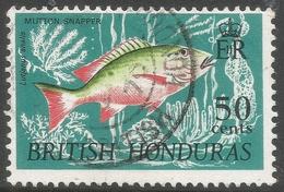 British Honduras. 1968 Wildlife. 50c Used SG 264 - British Honduras (...-1970)