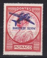 """Monaco PA N°14a """"surcharge Retournée"""" (FAUX) - Poste Aérienne"""