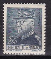 Monaco N°232** Variété Couleur Gris - Monaco