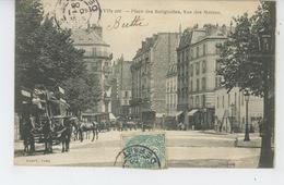 PARIS - XVIIème Arrondissement - Place Des Batignolles, Rue Des Moines - Paris (17)