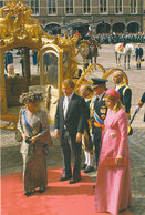 DP00604 - NETHERLANDS - DUTCH ROYALTY - QUEEN BEATRIX MAXIMA WILLEM-ALEXANDER - CP ORIGINAL ROYAL PRESS 121 - Familles Royales