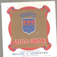 Buvard Biscottes ARTOIS-UNION - Biscottes