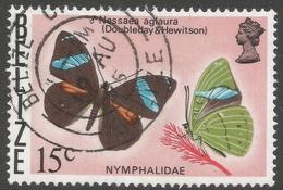 Belize. 1974 Butterflies Of Belize. 15c Used. SG 410 - Belize (1973-...)