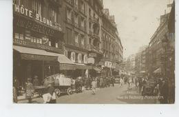 PARIS - IXème Arrondissement - Rue Du Faubourg Montmartre - Arrondissement: 09