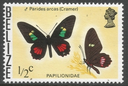 Belize. 1974 Butterflies Of Belize. ½c MH SG 380 - Belize (1973-...)