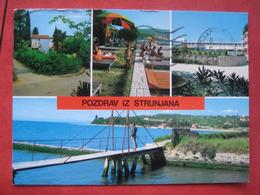 "Piran Strunjan / Pirano Strugnano: Mehrbildkarte ""Pozdrav Iz Strunjana"" - Slovénie"