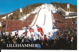 STADE COUPE DU MONDE SAUT A SKI LILLEHAMMER OLYMPIAPARK  LYSGADSBAKKENE 1994 - WORLD CUP SKI JUMPING STADIUM - Sports D'hiver