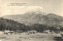 ** T2/T3 Brassó, Kronstadt, Brasov; Siebenbürgische Karpathen, Schuler (1802 M) Vom Tömöschtal Aus Gesehen. Verlag Karpa - Postcards