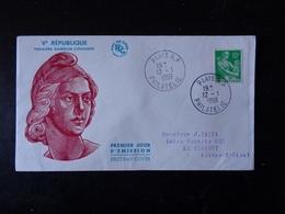ENVELOPPE PREMIER JOUR 1959  N° 1115A - Autres