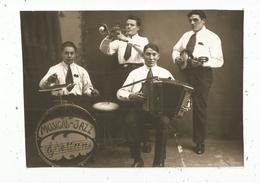 Photographie Issue D'un Journal,papier Glacé ,16 X 11.5 , Musiciens ,musique ,orchestre Musical Jazz , Frais Fr 1.55 E - Vieux Papiers
