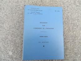 INF. 401/6 - Règlement Sur L'armement De L'infanterie - 277/09 - Livres, BD, Revues