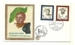 1980 - San Marino 1054/55 Europa - FDC - Europa-CEPT