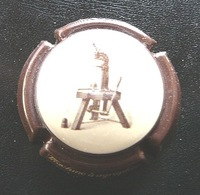 (dch-128) Capsule Champagne  Machine à Agrapher - Champagne
