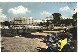 76 LE HAVRE N°111 Place Hôtel De Ville Jardin Grand Immeubles HLM ? Poussette Ou Landau Ancien éditions BELLEVUES 1960 - Le Havre