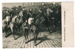 Avènement De Léopold II, Le Roi Et Son état Major  (pk52898) - Fêtes, événements