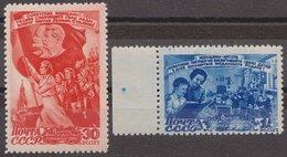 Russia 1947 Mi 1114-1115 MNH OG ** - 1923-1991 URSS