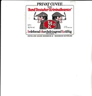 E1 - Etiquette PRIVAT CUVEE  Kriminalbeamter - Sherlock Holmes - WACHENHEIM - Beer