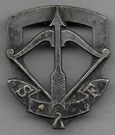 Scouts De France - Insigne Gras Cusset - Badges & Ribbons