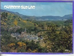 Carte Postale 63. Chambon-sur-lac    Très Beau Plan - France