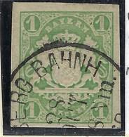 Allemagne, Bavière, N° 15 Oblitéré - Bavière