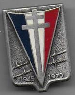 1945 - 1970  Retour Des Prisonniers  - Insigne Drago Paris - Army
