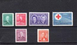 CANADA 1951-2 ** - 1937-1952 Règne De George VI