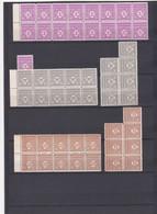 FRANCE Y/T  N°620-621-622-623-624-625-626-627-628  -  ARC DE TRIOMPHE DE L'ETOILE Lithographié   - REF 24-24 - Neufs