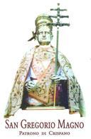 S. GREGORIO MAGNO - CRISPANO  - M - PR - Mm. 74 X 115 - Religione & Esoterismo