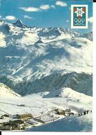 JEUX OLYMPIQUES HIVER GRENOBLE 1968 OLYMPICS WINTER GAMES - STATION ALPE HUEZ - AIGUILLE DU PLAT DE LA SELLE - Jeux Olympiques