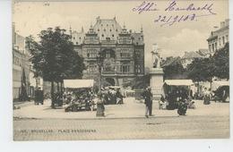 BELGIQUE - BRUXELLES - Place Anneessens - Squares