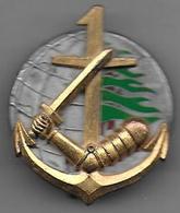 1er RIMa  1ere Compagnie  - Insigne Fraisse Matriculé 12 - Army