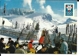 JEUX OLYMPIQUES HIVER GRENOBLE 1968 OLYMPICS WINTER GAMES - VILLARD DE LANS COTE 2000 COMBE DU CLOT D'APRE - Jeux Olympiques
