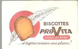 Buvard PROVITA Biscottes PROVITA A TOUS LES REPAS - Biscottes