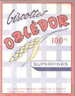 Buvard OBLEDOR Biscottes OBLEDOR Superfines - Biscottes