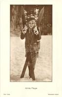 ** T1 Anita Page, American Film Actress With Ski Sports Equipment. Ross Verlag 5099/2. - Ansichtskarten