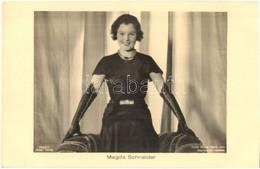 ** T1 Magda Schneider, German Actress, Mother Of Romy Schneider. Ross Verlag 7930/1. Atelier Binder, Berlin Phot. - Ansichtskarten