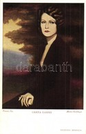 ** T2 Greta Garbo / Fernet Branca Italian Art Postcard. Metro Goldwyn S: Nanni - Ansichtskarten