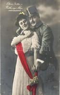 ** Ötvös Gitta, Ráthonyi Ákos és Csapó A Varázskeringő C. Darabban - 2 Db RÉGI Képeslap / - 2 Pre-1945 Postcards - Ansichtskarten