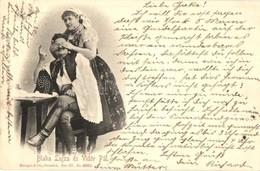 T2 1898 Blaha Lujza és Vidór Pál. Strelisky - Ansichtskarten
