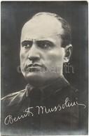 ** T2/T3 Benito Mussolini, Italian National Fascist Party Leader - Ansichtskarten