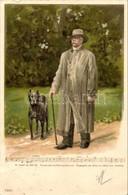 T2/T3 1899 Otto Von Bismarck, Sheet Song, Litho - Ansichtskarten
