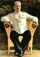 ** Joseph Stalin - 2 Modern Unused Postcards - Ansichtskarten