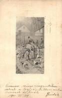 T2 1901 Hunter With Dogs, S. A. N. V. - Ansichtskarten