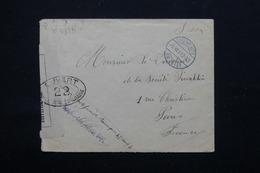 FRANCE - Enveloppe D 'un Prisonnier Aux Pays Bas En 1917 Pour Paris , Contrôle Postal - L 21303 - Guerre De 1914-18