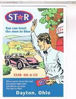 PUBLICITE CPM   POMPE A ESSENCE  STAR - Pubblicitari