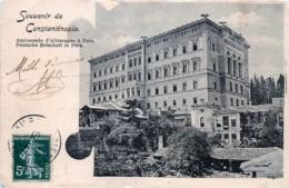 Turquie - Souvenir De Constantinople -Ambassade D' Allemagne à Pera - Turquie