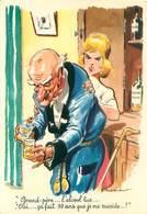 Illustrateur Paul Ordner - Grand Pere L' Alcool   B 899 - Humour